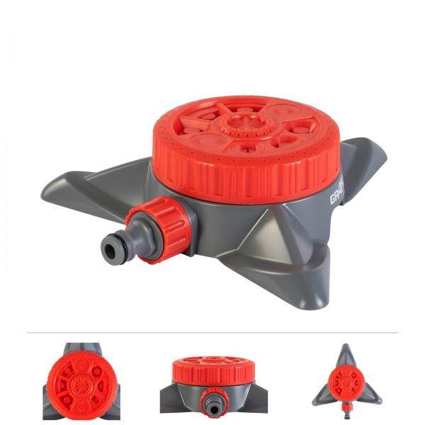 Grafner® Kreis- Rasensprenger RS10821 | 8 Sprüh-Funktionen