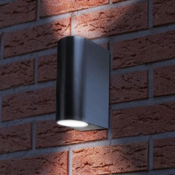 Grafner® Aluminium Wandlampe 37WB-2 Wandleuchte Lichtschein Up&Down/Oben&Unten