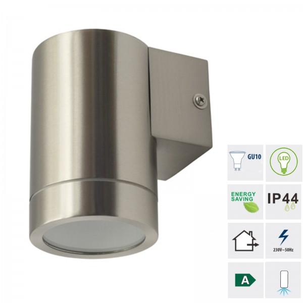 Grafner® Edelstahl Wandlampe 123WB Leuchte Lichtschein Down/Unten