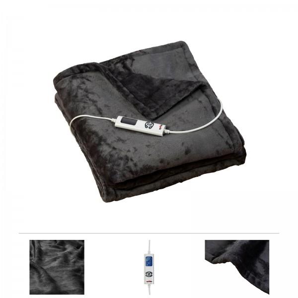 Grafner® Wärmedecke Flannel Fleece 180 x 130 cm WD10853