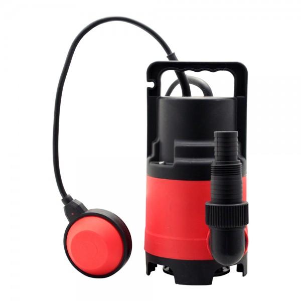 Grafner® Schmutzwassertauchpumpe 400 Watt 8000 l/h Schmutzwasserpumpe Gartenpumpe
