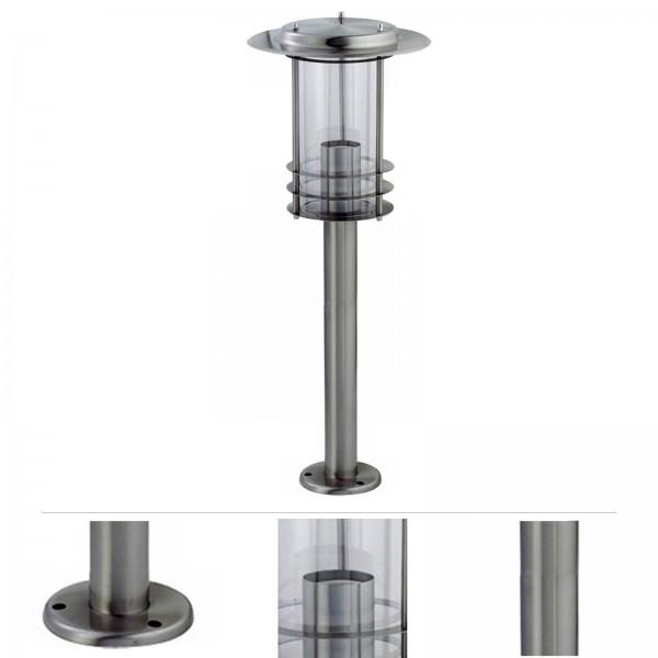Grafner® Edelstahl Wegleuchte 17S08 Gartenlampe 80cm Standleuchte
