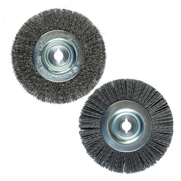 Grafner® Nylon +  Draht Ersatzbürste für Multifunktionale Oberflächenbürste MB10835