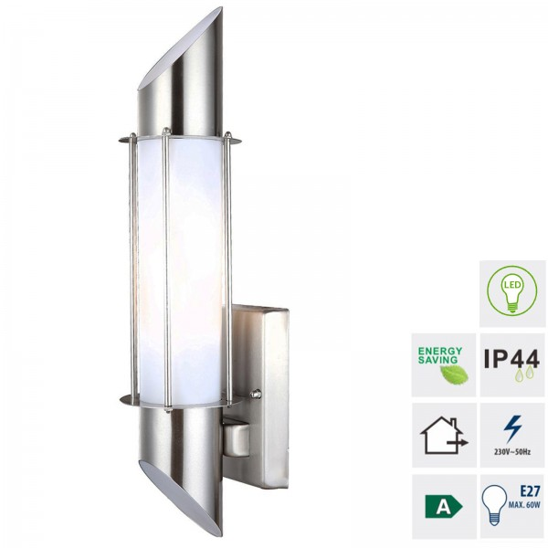 Grafner® Edelstahl Wandlampe 877WB Leuchte