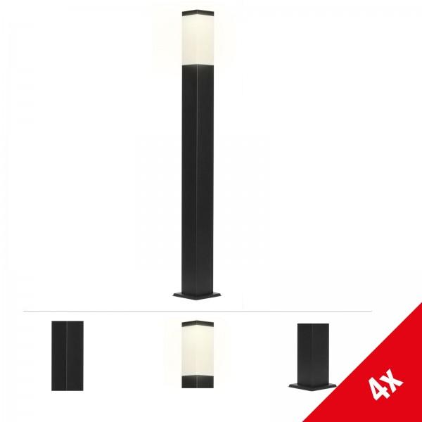 Grafner® Wegleuchte Standleuchte 100cm anthrazit