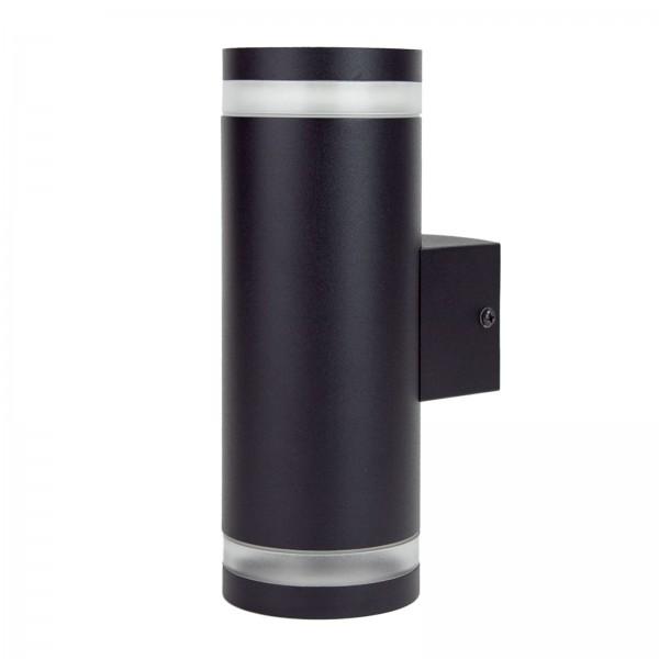 Grafner® Aluminium-Wandlampe Up & Down Außenlampe schwarz WL10749