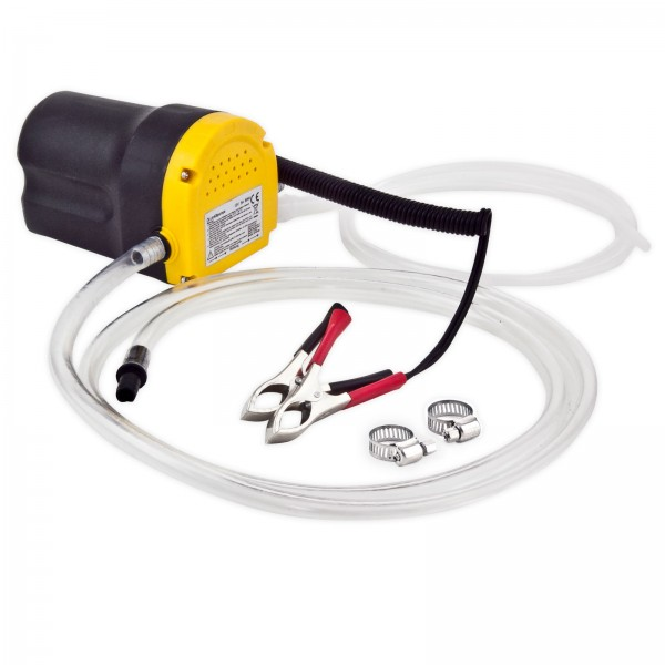 Grafner® Öl-Umfüllpumpe mit Schalter Schläuchen und Rohrschellen UP10795