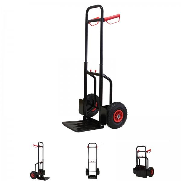 Grafner® Sackkarre Transportkarre Stapelkarre ausziehbar / klappbar 200 kg