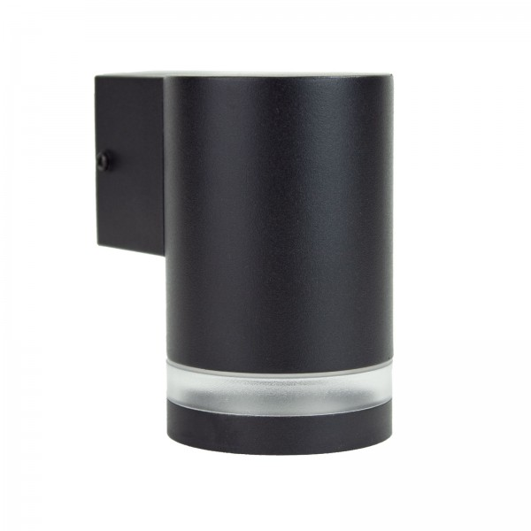 Grafner® Aluminium-Wandlampe Down Außenlampe schwarz WL10748