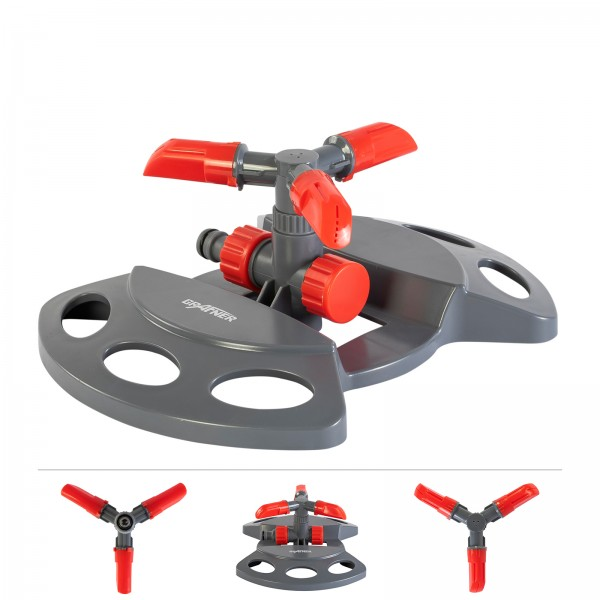 Grafner® Rasensprenger Kreis- und Sektorenregner RS10823