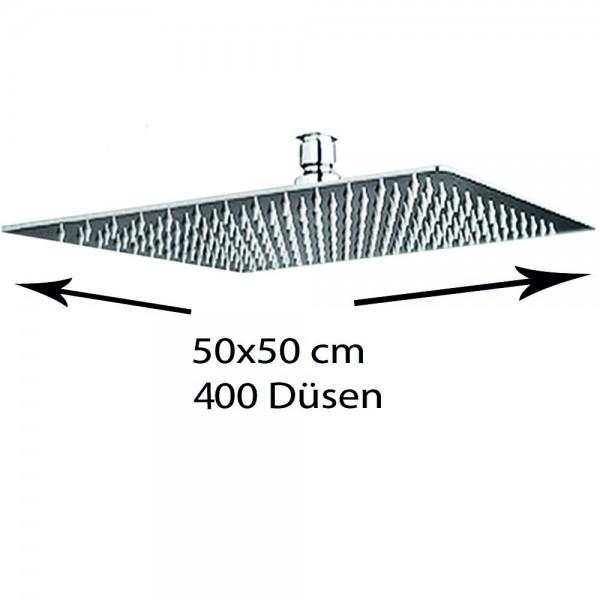 Grafner® Edelstahl Duschkopf 50x50 cm Regendusche