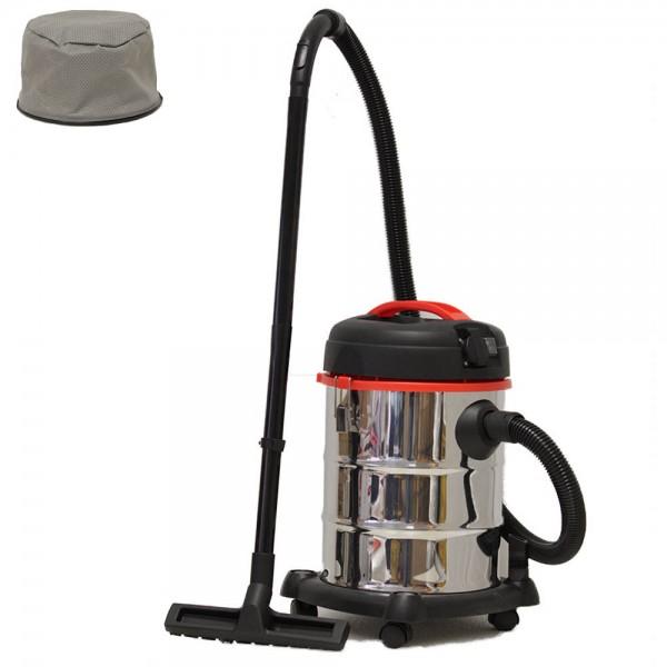 Grafner® Nass- und Trockensauger 1200 Watt 30 Liter mit Steckdose