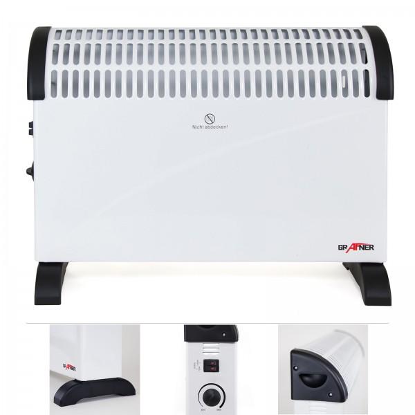 Grafner® Konvektor Heizgerät 2000 Watt KH10846