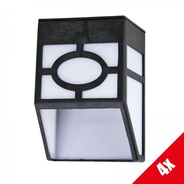 4x Grafner LED-Solar Rechteckleuchte SL10701 (4x19362)