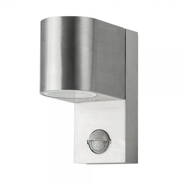Grafner Aluminium-Wandlampe mit Bewegungsmelder 37WBPIR Polish WL10315
