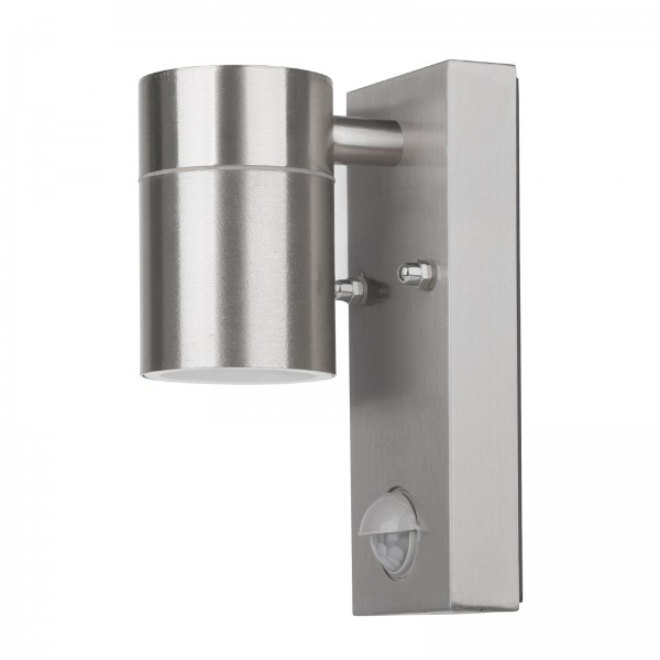 Grafner Edelstahl-Wandlampe 26BPIR WL10298