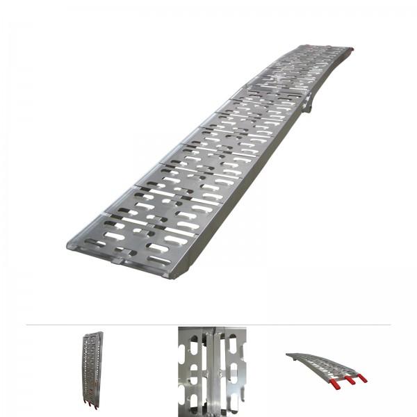 Grafner® Alu Auffahrrampe Verladerampe klappbar 226x29,5 cm 340 kg