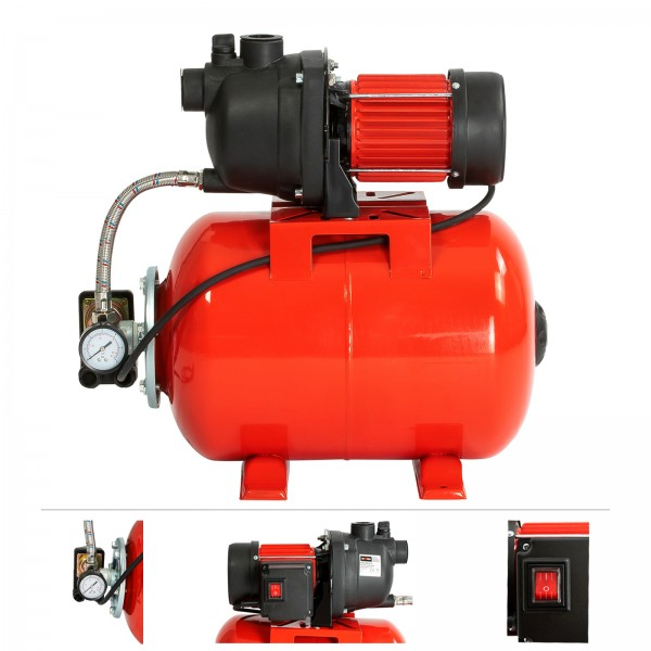 Grafner® Hauswasserwerk 1200 W 3800 l/h