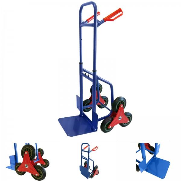 Grafner® Treppensteiger Sackkarre ausziehbar / klappbar 200 kg