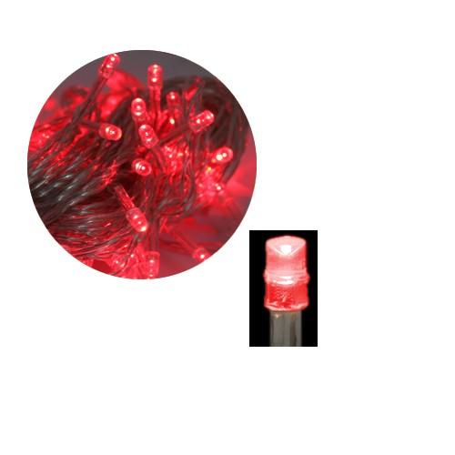 Grafner® LED-Lichterkette 200 LEDs 20m Rot