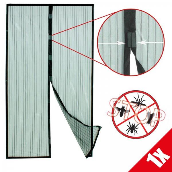 Grafner® Insektenschutzgitter magnetischer Fliegen Türvorhang für Balkon- oder Terrassentüren