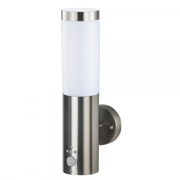 Grafner® Edelstahl Wandlampe mit Bewegungsmelder 10WBPIR Wandleuchte