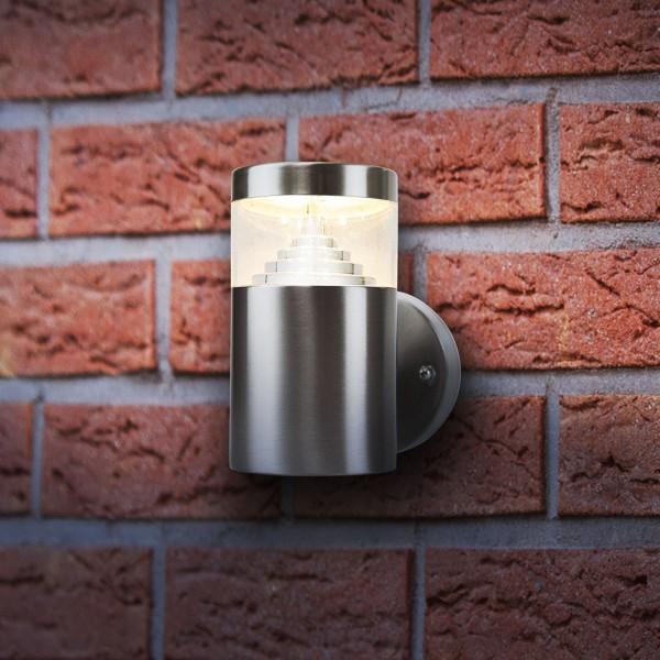 Grafner® Edelstahl Wandlampe 108WB Wandleuchte mit integrierten LED Leuchtmittel