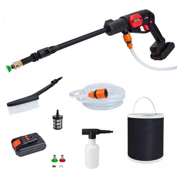Grafner® Mobiler Akku-Hochdruckreiniger mit Akku und Zubehör