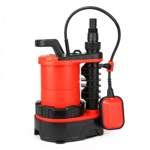Grafner® 3in1 Kombitauchpumpe Flachsaugerpumpe 750 Watt 16.000 l/h Schmutz- und Klar- Wasserpumpe