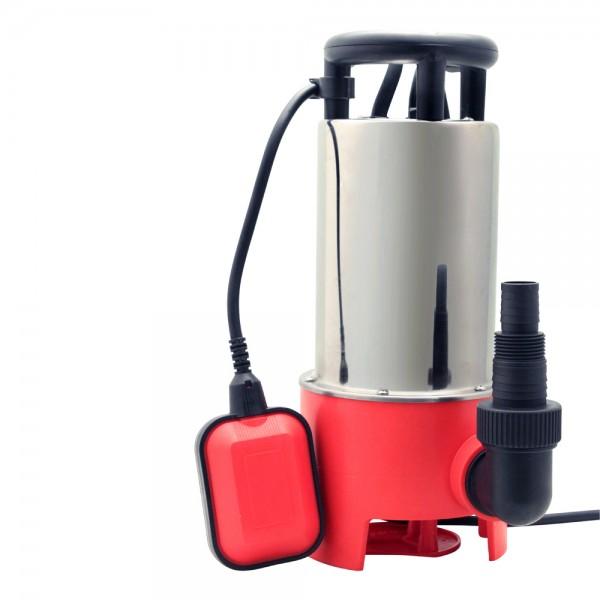 Grafner® Schmutzwassertauchpumpe 1100 Watt 20.000 l/h Schmutzwasserpumpe Gartenpumpe