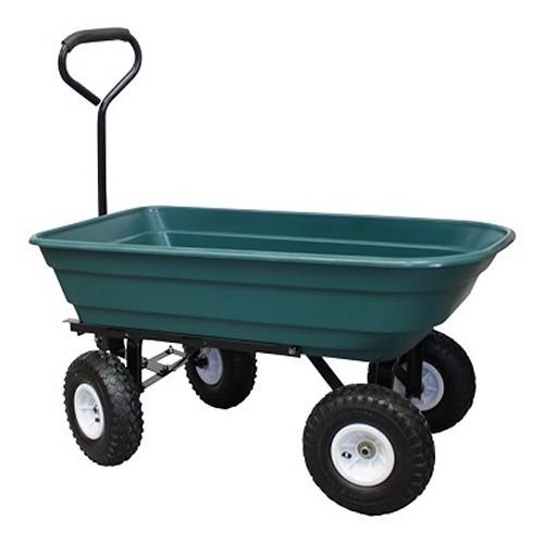 Grafner® Gartenwagen mit Kippfunktion Bollerwagen max. 300 kg Transportwagen